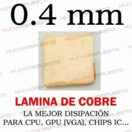 LAMINA DE COBRE 0.4mm PARA...