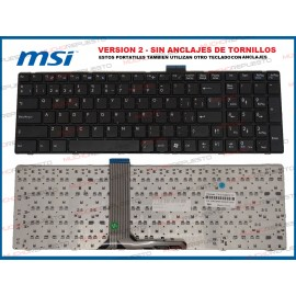 TECLADO MSI CR61 / CR70 /...