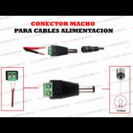 CONECTOR MACHO 5.5*2.1 PARA...