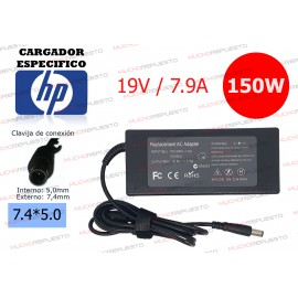 CARGADOR ESPECIFICO HP 19V...