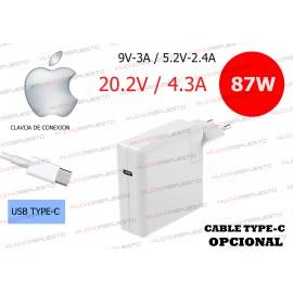 CARGADOR Apple / Mac USB...
