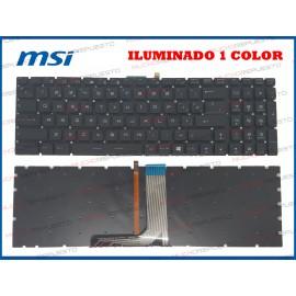 TECLADO MSI GP62 / GP62MVR...