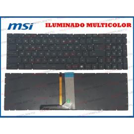 TECLADO MSI GP72 / GP72VR...