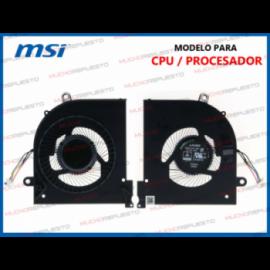 VENTILADOR MSI GS65 Series...