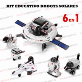 KIT DE ROBOTS SOLARES (6...