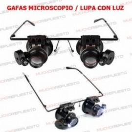 GAFAS CON LUZ MICROSCOPIO /...