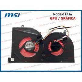 VENTILADOR MSI GS63 /...