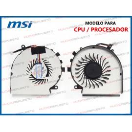 VENTILADOR MSI GL62M 7RD /...