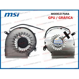 VENTILADOR MSI GP62MVR /...
