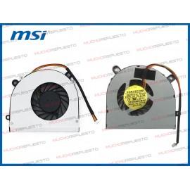 VENTILADOR MSI CX61 /CR650...
