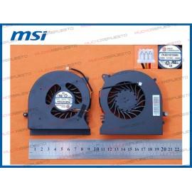 VENTILADOR MSI GT72 6QD /...