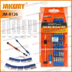 JAKEMY JM-8126 DESTORNILLADOR PROFESIONAL 58 EN 1
