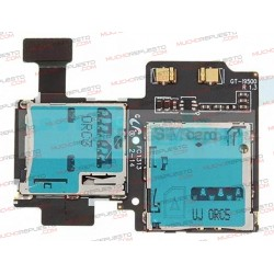 CONECTOR SIM+TARJETA SD SAMSUNG Galaxy S4 i9505