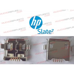 CONECTOR MICRO USB TABLET HP SLATE 7""