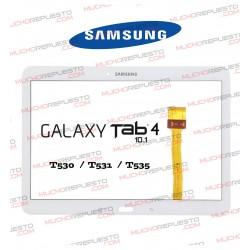 """CRISTAL+TACTIL TABLET SAMSUNG Galaxy TAB4 T530/T531/T533/T535 10.1"""" BLANCA"""