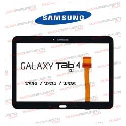 """CRISTAL+TACTIL TABLET SAMSUNG Galaxy TAB4 T530/T531/T533/T535 10.1"""" NEGRA"""