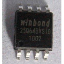 BIOS WINBOND 25Q64BVSIG SOIC 8pin IC CHIP 64mb