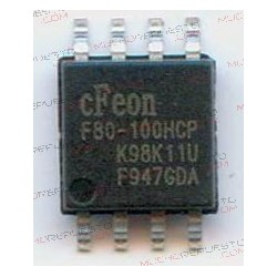 BIOS cFeon F80-100HCP SOP 8pin IC CHIP 8mb