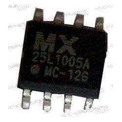 BIOS MX25L1005 SOP 8pin IC...