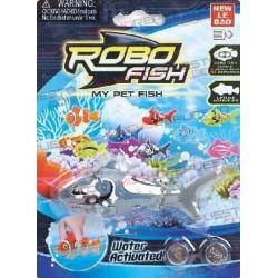 ROBOFISH TIBURON GRIS (2 pilas incluidas)