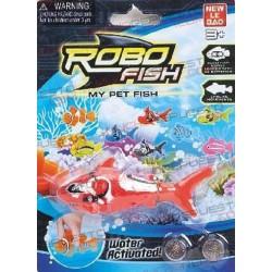 ROBOFISH TIBURON ROJO (2 pilas incluidas)