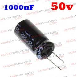 Condensador electrolítico 1000uF. 50V