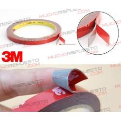CINTA ADHESIVA DOBLE CARA ESPUMA 3M 10mm (3metros)