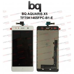 "CRISTAL+TACTIL+LCD MOVIL BQ AQUARIS X5 5"" BLANCA"