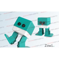 Kit Robot Educativo BQ ZOWI programable (CLAN TV)