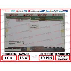 "PANTALLA 15.4"" LCD (1280x800) 1CCFL MATE CONECTOR SUPERIOR IZQUIERDA"