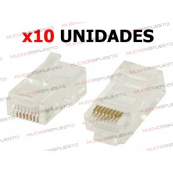 CONECTOR DE RED LAN MACHO...