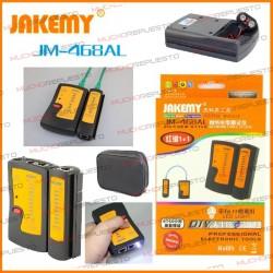 JAKEMY JM-468AL TESTER CABLES DE RED RJ45 / RJ11