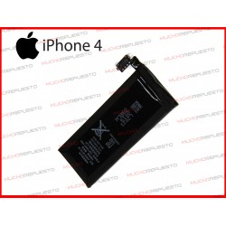 BATERIA MOVIL IPHONE 4 COMPATIBLE 3.7V 1420mAh