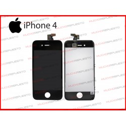 PANTALLA (Tactil+LCD) IPHONE 4 (Grade A+) NEGRA