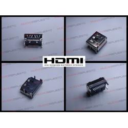 CONECTOR HDMI HEMBRA SMD PARA SOLDAR (Modelo 04)