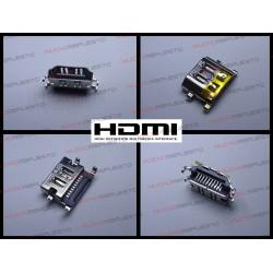 CONECTOR HDMI HEMBRA SMD PARA SOLDAR (Modelo 06)
