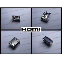CONECTOR HDMI HEMBRA SMD PARA SOLDAR (Modelo 07)