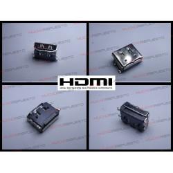 CONECTOR HDMI HEMBRA SMD PARA SOLDAR (Modelo 08)