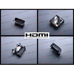 CONECTOR HDMI HEMBRA SMD PARA SOLDAR (Modelo 10)