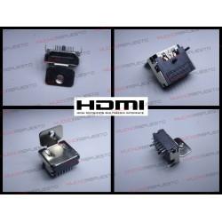 CONECTOR HDMI HEMBRA SMD PARA SOLDAR (Modelo 13)