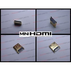 CONECTOR MINI HDMI MACHO...