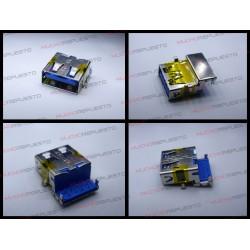 CONECTOR USB TIPO A SMD PARA SOLDAR (Modelo 009)