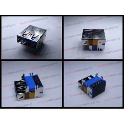 CONECTOR USB TIPO A SMD PARA SOLDAR (Modelo 010)