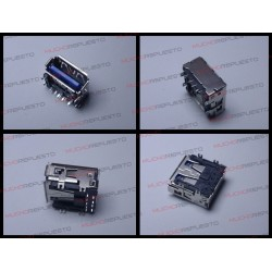 CONECTOR USB TIPO A SMD PARA SOLDAR (Modelo 013)