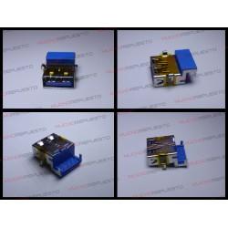 CONECTOR USB TIPO A SMD PARA SOLDAR (Modelo 014)