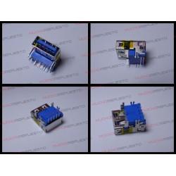 CONECTOR USB TIPO A SMD PARA SOLDAR (Modelo 015)