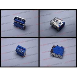CONECTOR USB TIPO A SMD PARA SOLDAR (Modelo 016)