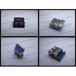 CONECTOR USB TIPO A SMD PARA SOLDAR (Modelo 017)