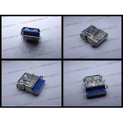 CONECTOR USB TIPO A SMD PARA SOLDAR (Modelo 022)