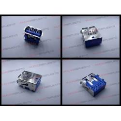 CONECTOR USB TIPO A SMD PARA SOLDAR (Modelo 023)